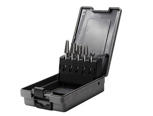 5 Piece Plastic Box carbide Rotary Bur Set